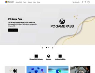 microsoft.com.tr screenshot