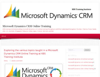microsoftdynamicscrmonlinetraining.wordpress.com screenshot