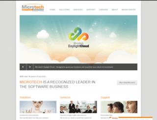 microtech.com.eg screenshot
