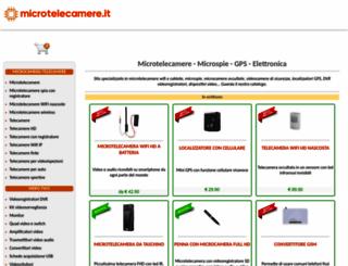microtelecamere.it screenshot