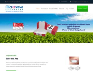 microwave-packaging.com screenshot