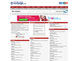 microwave.page.co.uk screenshot