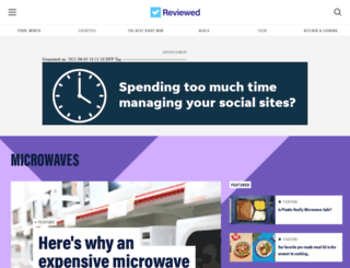 microwaves.reviewed.com screenshot