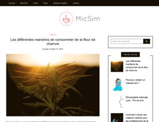 micsim.com screenshot
