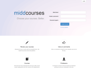middcourses.com screenshot