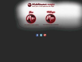 middlewaremagic.com screenshot