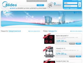 midea-bg.com screenshot