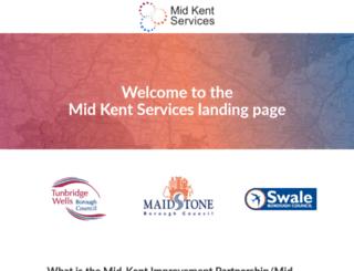 midkent.gov.uk screenshot