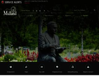 midland-mi.org screenshot