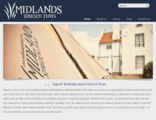 midlandsstretchtents.squarespace.com screenshot