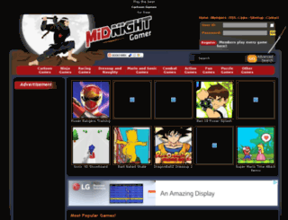 midnightgamer.com screenshot