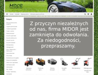 midor.com.pl screenshot