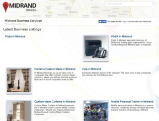 midrandservices.co.za screenshot