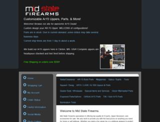 midstatefirearms.com screenshot