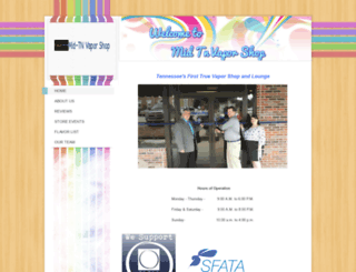 midtnvaporshop.com screenshot