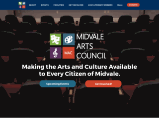 midvalearts.com screenshot