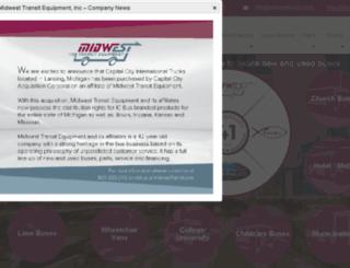 midwesttransit.com screenshot