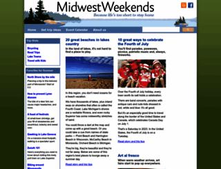 midwestweekends.com screenshot