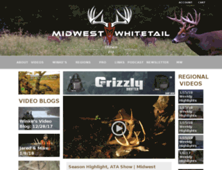 midwestwhitetail.com screenshot