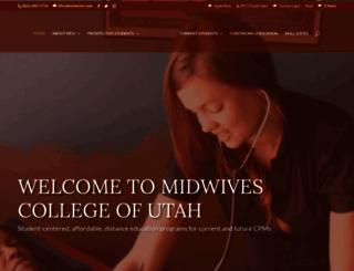 midwifery.edu screenshot