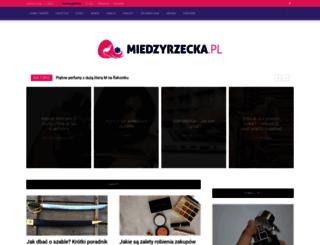 miedzyrzecka.pl screenshot