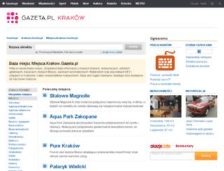miejsca.krakow.gazeta.pl screenshot