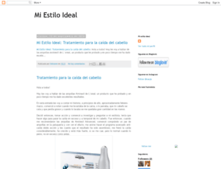miestiloideal.blogspot.com screenshot