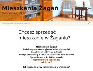 mieszkania-zagan.pl screenshot