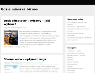 mieszkaniaaa.com.pl screenshot