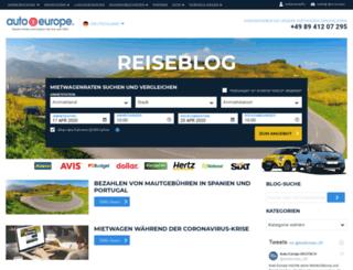 mietwagen-blog.autoeurope.de screenshot