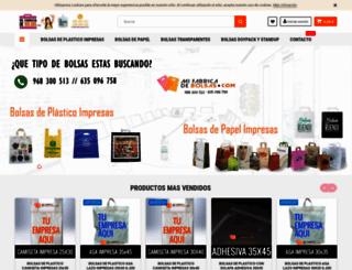 mifabricadebolsas.com screenshot