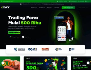 mifx.com screenshot