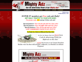 mightyadz.com screenshot