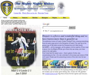 mightyleeds.co.uk screenshot