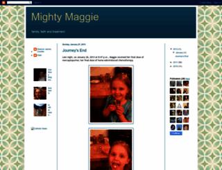 mightymaggie.blogspot.com screenshot