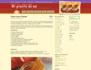 migranitodesal.com screenshot
