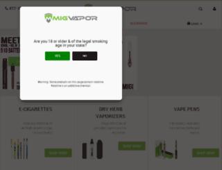 migvapor.aws3.net screenshot