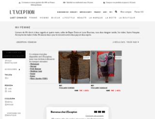 mii.lexception.com screenshot
