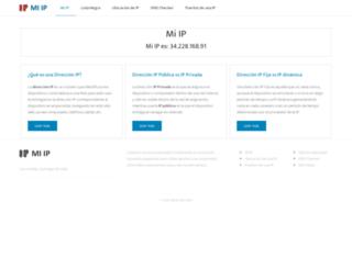 miip.cl screenshot
