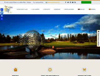 mijasgolf.org screenshot