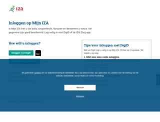 mijn.izagezondsamen.nl screenshot