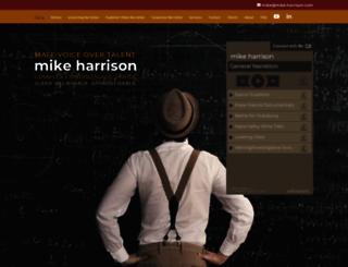 mike-harrison.com screenshot