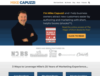 mikecapuzzi.com screenshot