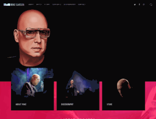 mikegarson.com screenshot
