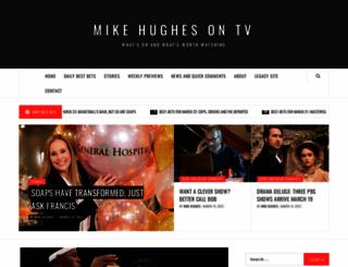 mikehughes.tv screenshot