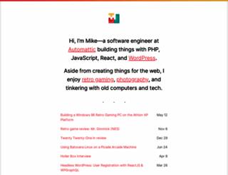 mikejolley.com screenshot