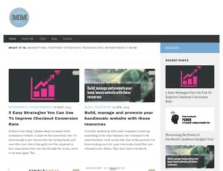 mikemeisner.com screenshot