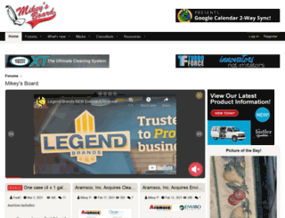 mikeysboard.com screenshot