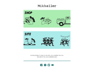 mikkeller.dk screenshot