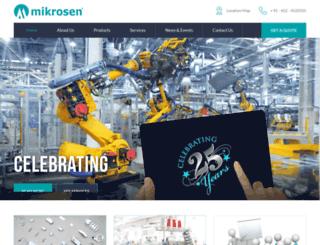 mikrosen.com screenshot
